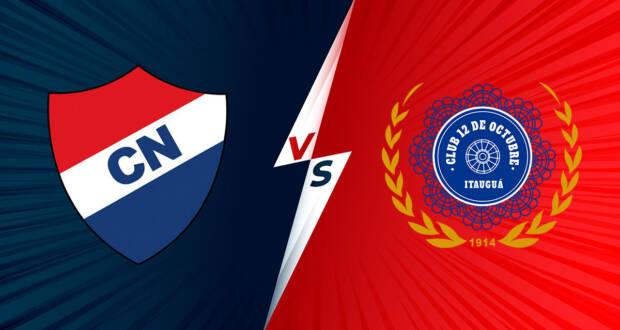 12 de Octubre vs Nacional EN VIVO - Copa Sudamericana