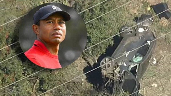 Accidente de Tiger Woods EN VIVO