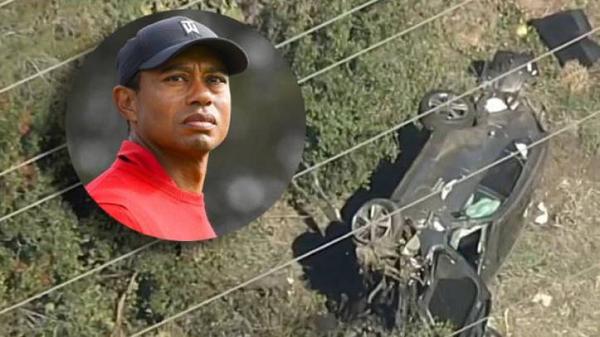 Accidente de Tiger Woods EN VIVO