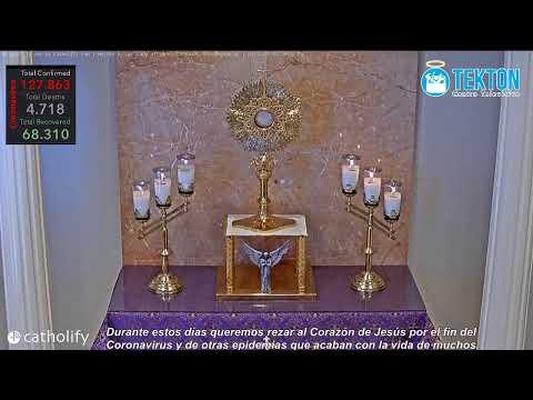 Adoración Eucarística en vivo por el fin del CORONAVIRUS