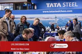 Ajedrez EN VIVO - Torneo Tata Steel ONLINE