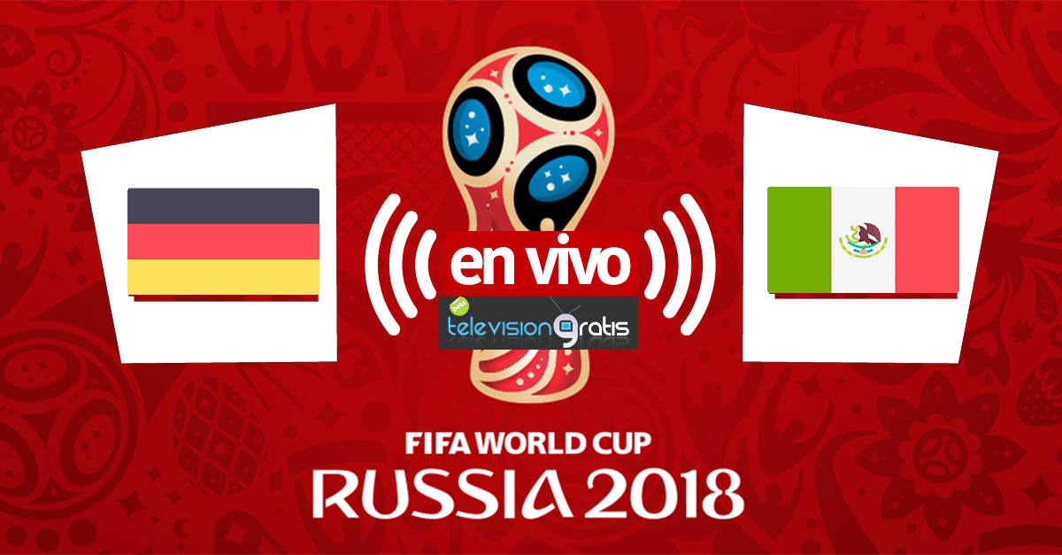 Alemania vs México en vivo