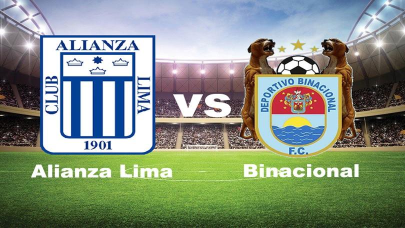 Alianza Lima vs Binacional EN VIVO