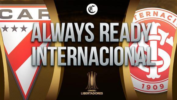 Always Ready vs Internacional EN VIVO - Copa Libertadores EN DIRECTO