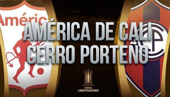 América de Cali vs Cerro Porteño EN VIVO - Copa Libertadores