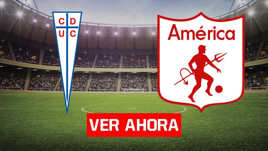América vs Universidad Católica - Ver la Copa Libertadores