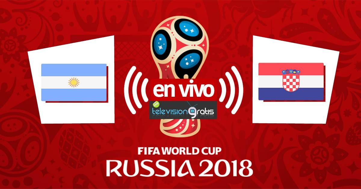 Argentina vs Croacia en vivo