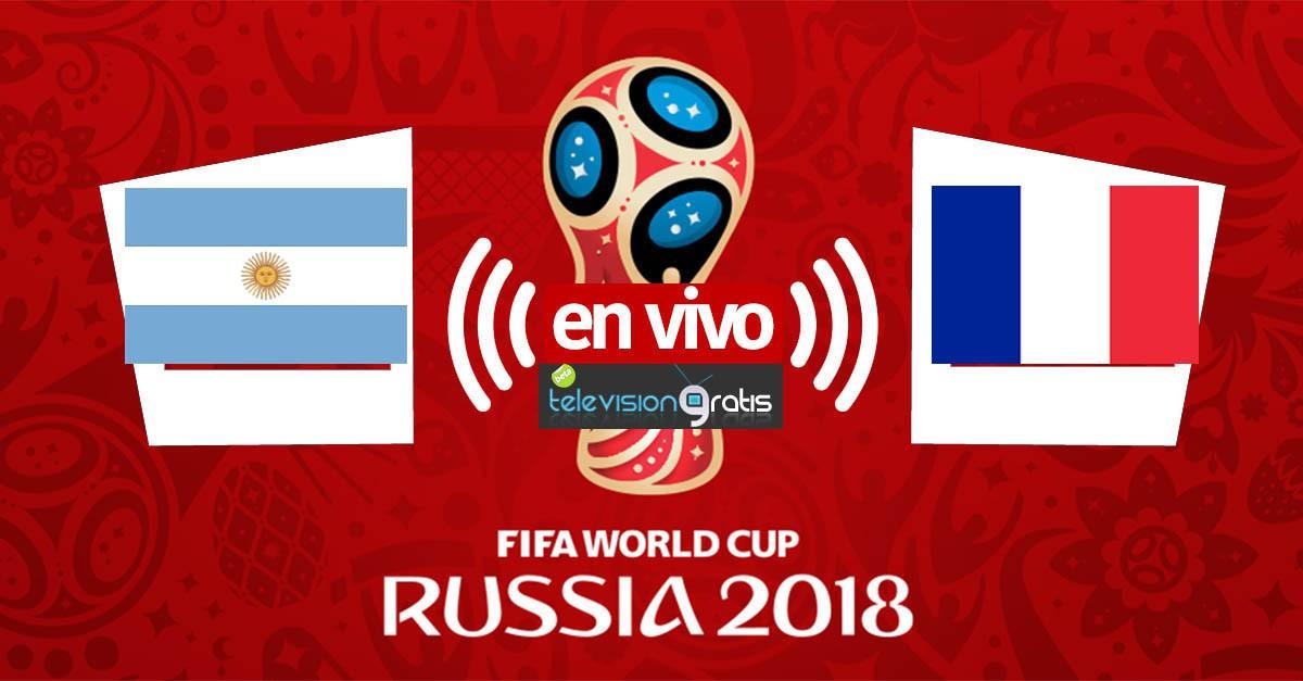 Argentina vs Francia En Vivo - Octavos de Final - Rusia 2018