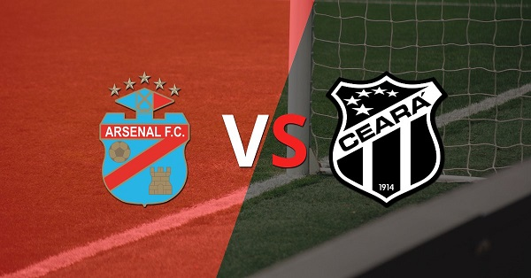 Arsenal vs Ceará EN VIVO - Copa Sudamericana