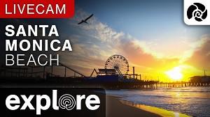 Atardecer En Vivo - Santa Monica Beach Cam