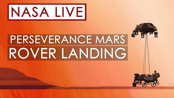 Aterrizaje en Marte EN VIVO del Rover Perseverance de la NASA