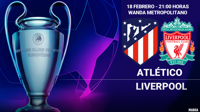 Atlético Madrid vs Liverpool - Champions League EN VIVO