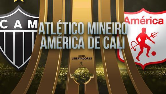 Atlético Mineiro vs América EN VIVO - Copa Libertadores