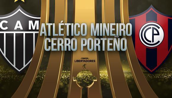 Atlético Mineiro vs Cerro Porteño EN VIVO - Copa Libertadores