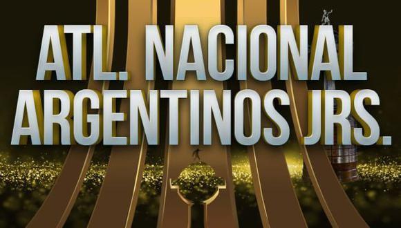 Atlético Nacional vs Argentinos Juniors EN VIVO - Copa Libertadores