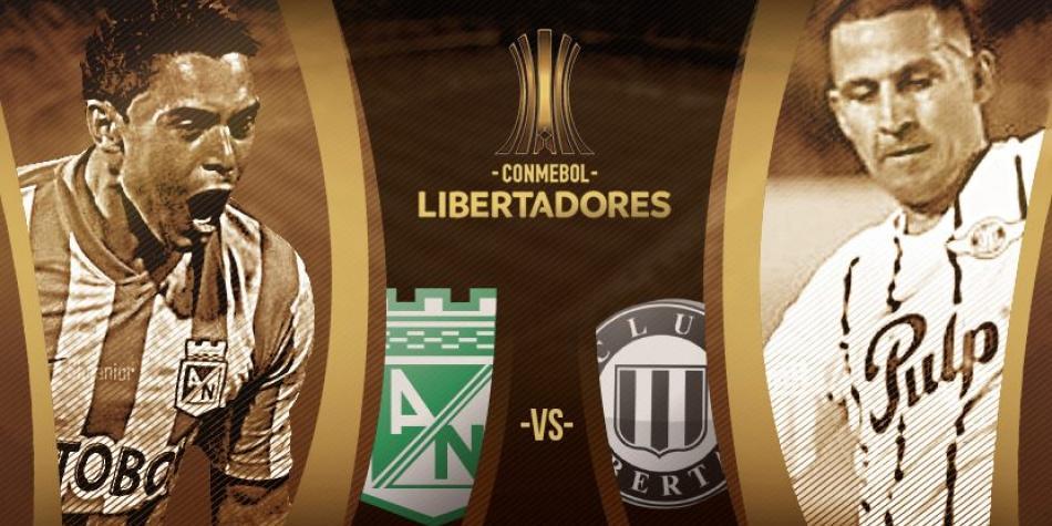 Atlético Nacional vs Libertad - Copa Libertadores En Vivo