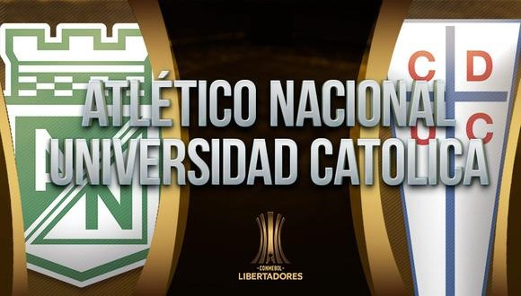 Atlético Nacional vs U. Católica EN VIVO - Copa Libertadores