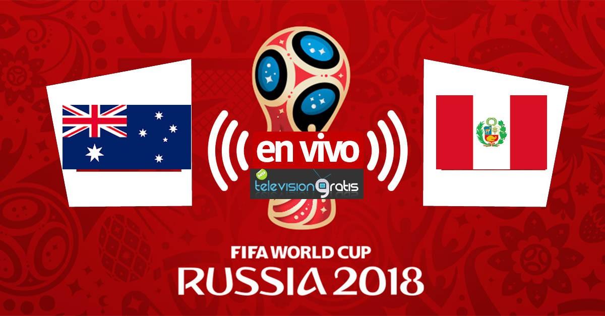 Australia vs Peru en vivo
