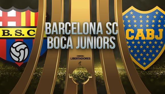 Barcelona SC vs Boca Juniors EN VIVO - Copa Libertadores