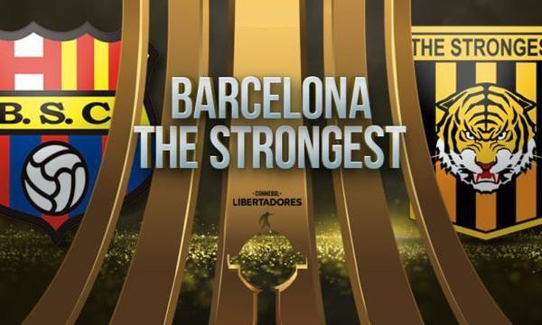 Barcelona SC vs The Strongest EN VIVO - Copa Libertadores