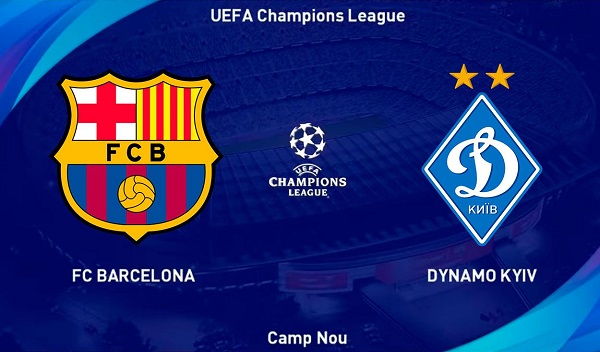 Barcelona vs Dynamo Kyiv - Champions League EN VIVO