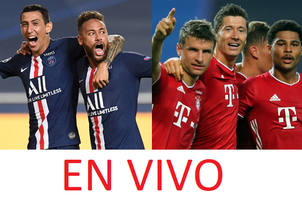 Bayern vs PSG - Final de la Champions League EN VIVO