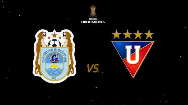 Binacional vs Liga de Quito - Copa Libertadores EN VIVO