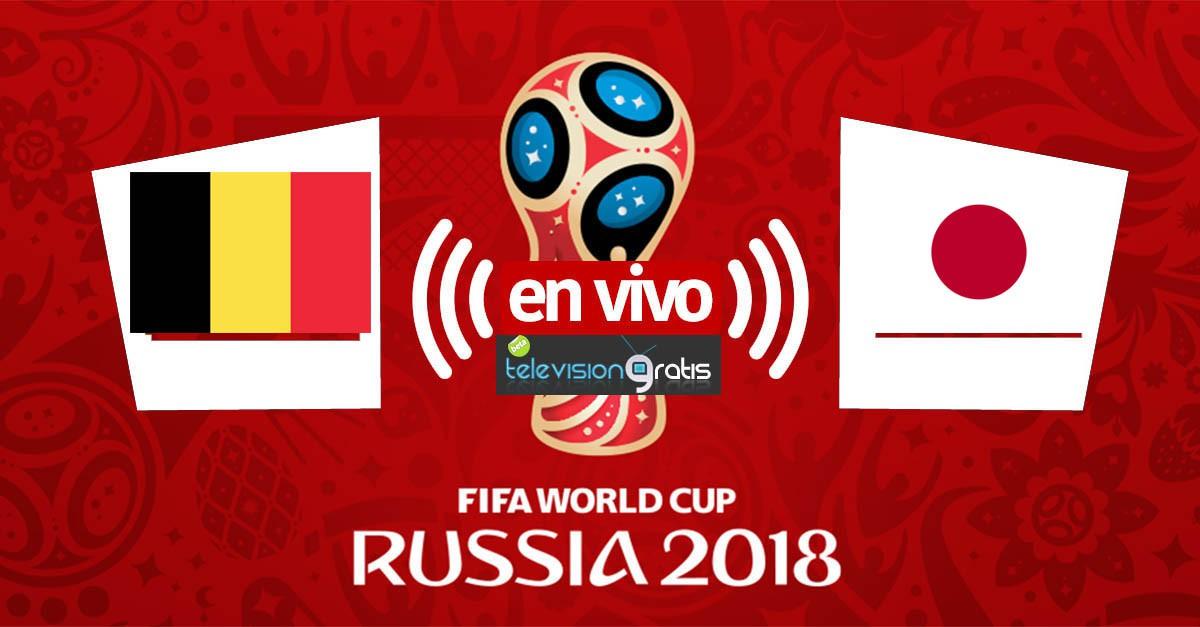Bélgica vs Japon En Vivo - Octavos de Final - Rusia 2018