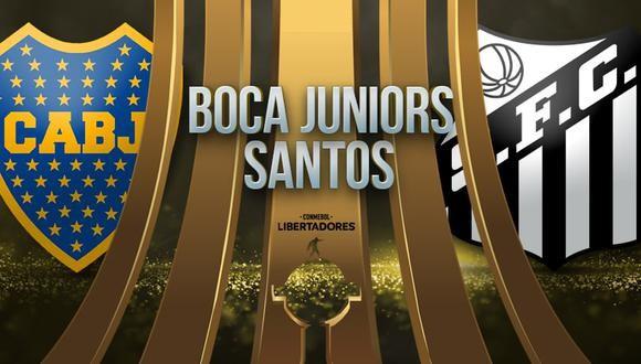 Boca Juniors vs Santos EN VIVO - Copa Libertadores