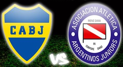Boca vs Argentino Juniors En Vivo