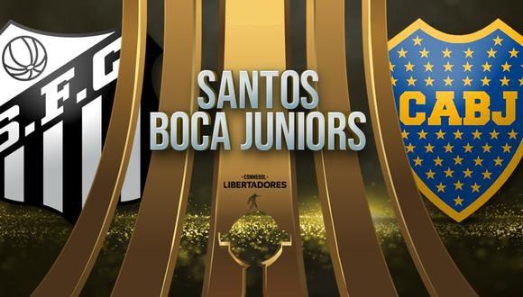 Boca vs Santos EN VIVO - Copa Libertadores EN DIRECTO