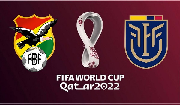 Bolivia vs Ecuador - EN VIVO - Eliminatorias Qatar 2022