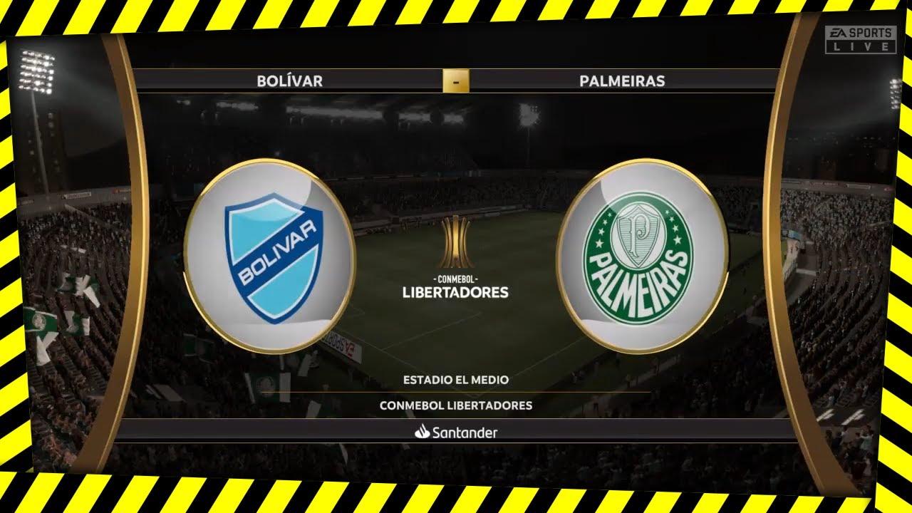 Bolívar vs Palmeiras EN VIVO - Ver la Copa Libertadores