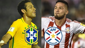 Brasil versus Paraguay - Eliminatorias Rusia 2018 En Vivo