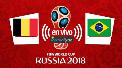 Brasil vs Bélgica En Vivo - Cuartos de Final Mundial Rusia 2018