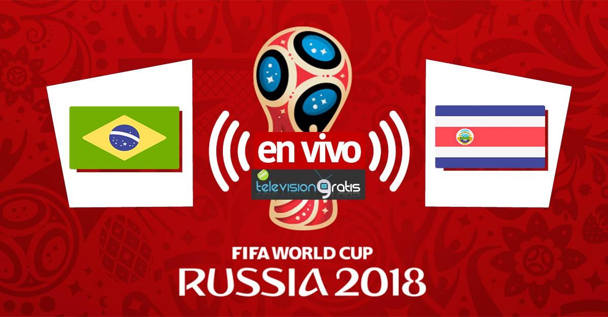 Brasil vs Costa Rica en vivo