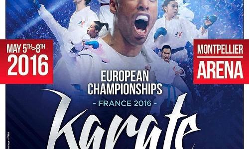 Campeonato de Europa de Karate en Montpellier En Vivo
