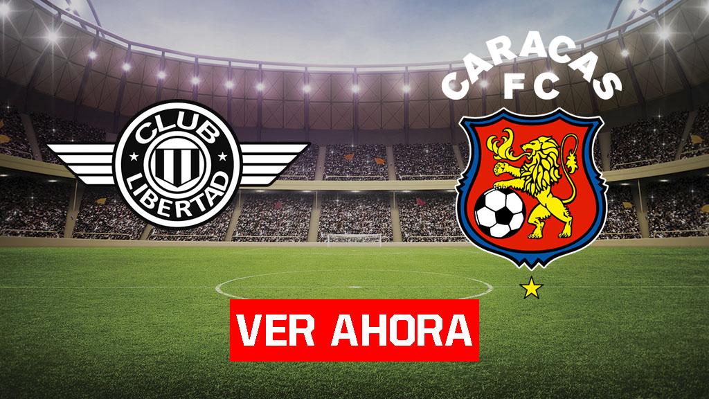 Caracas vs Libertad - Ver la Copa Libertadores