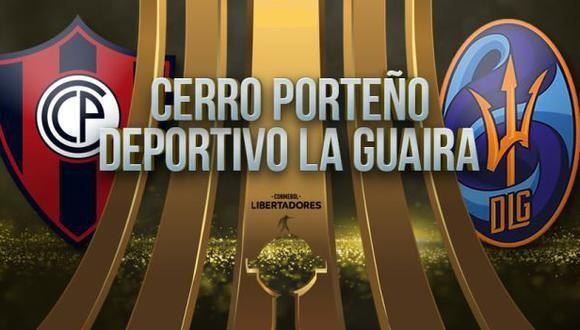 Cerro vs D. La Guaira EN VIVO - Copa Libertadores