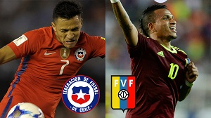Chile vs. Venezuela En vivo online - Eliminatorias Rusia 2018