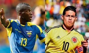 Colombia vs Ecuador En Vivo - Eliminatorias Rusia 2018