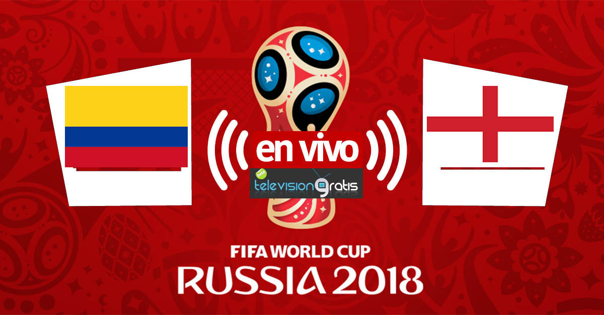 Colombia vs Inglaterra En Vivo - Octavos de Final - Rusia 2018