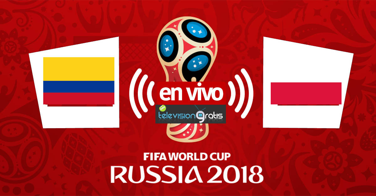 Colombia vs Polonia en vivo