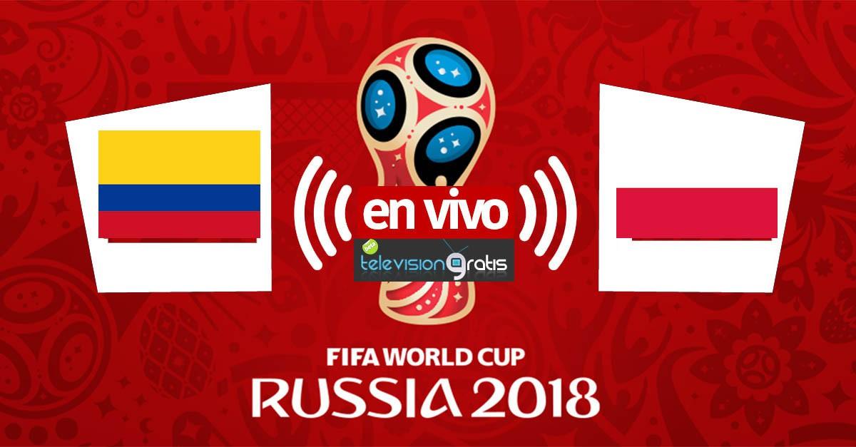 Colombia vs Polonia en vivo
