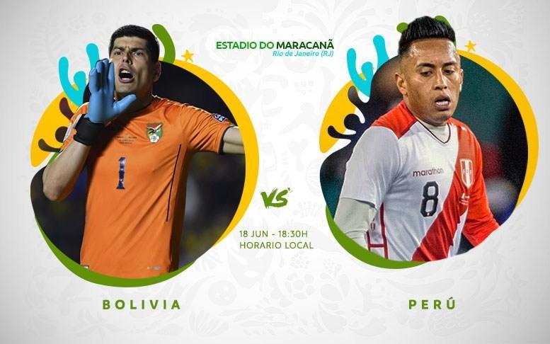Copa América En Vivo - Boliva vs Peru