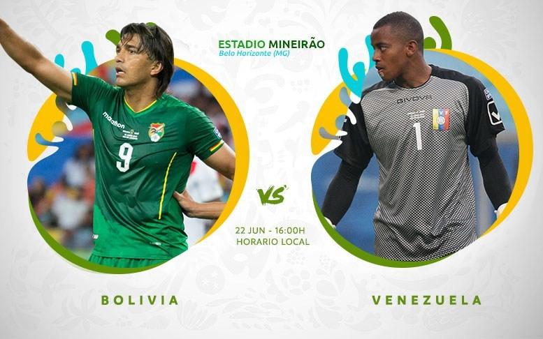 Copa América En Vivo - Bolivia vs  Venezuela