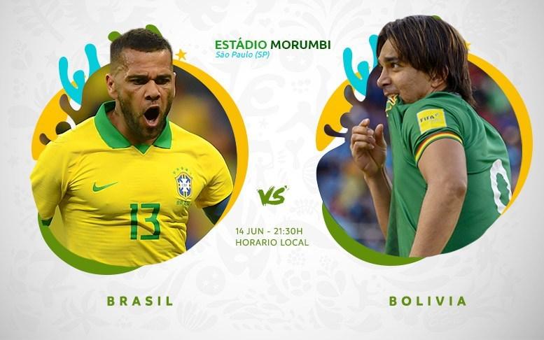Copa América En Vivo - Brasil vs Bolivia