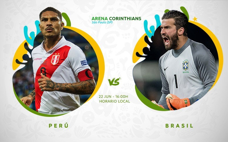 Final Copa América En Vivo - Brasil vs Perú