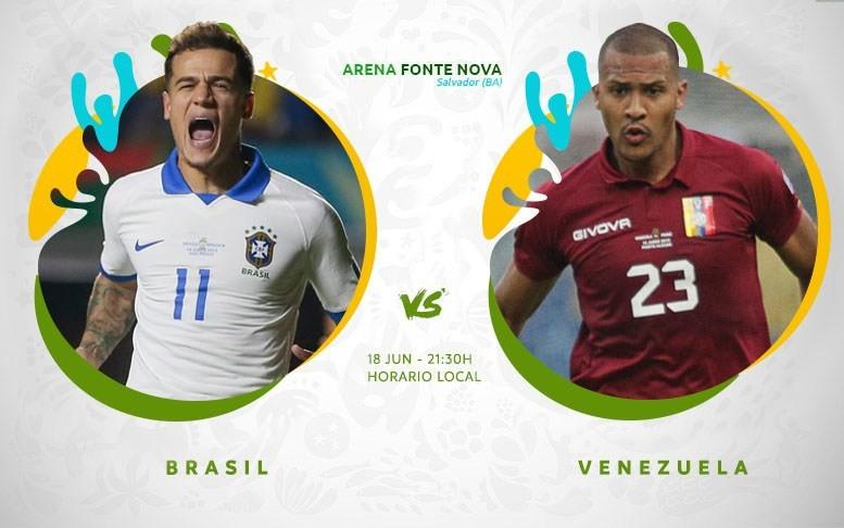 Copa América En Vivo - Brasil vs Venezuela