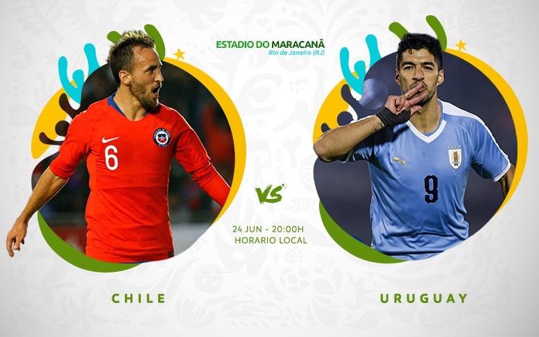 Copa América En Vivo - Chile vs Uruguay